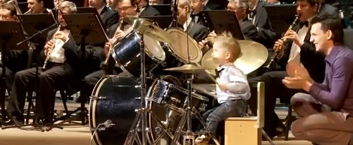 This 3-Year-Old Band Leader Will Blow You Away