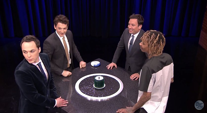 Miles Teller, Jim Parsons, and Wiz Khalifa Play a Hilarious Game of Catch Phrase