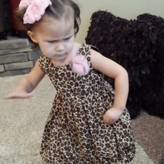 Little Girl Dancing to LL Cool J