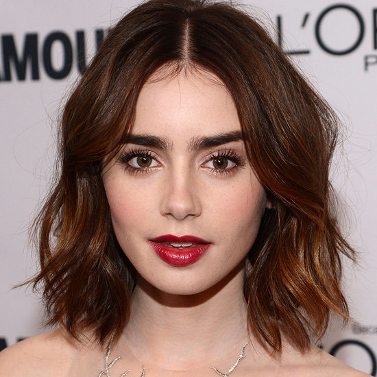Lily Collins Hair and Makeup Over the Years