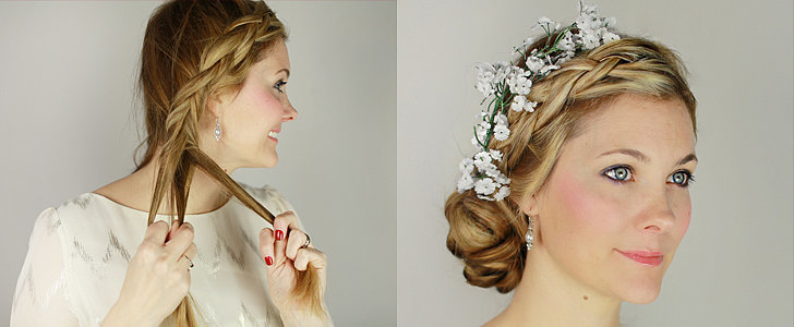 This Low-Key Braided Bridal Updo Will Stun From All Angles