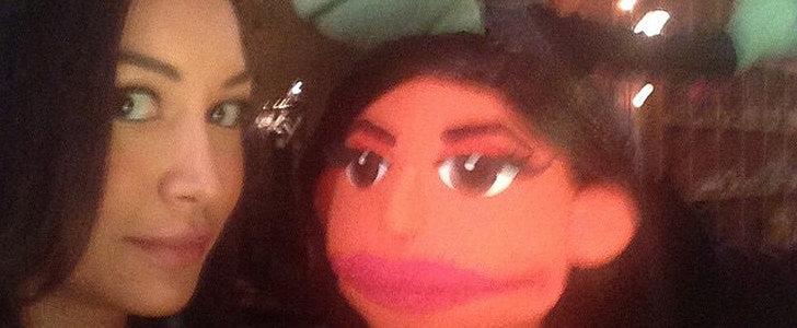 Naya Rivera Just Shared a Ton of Vintage Glee Selfies