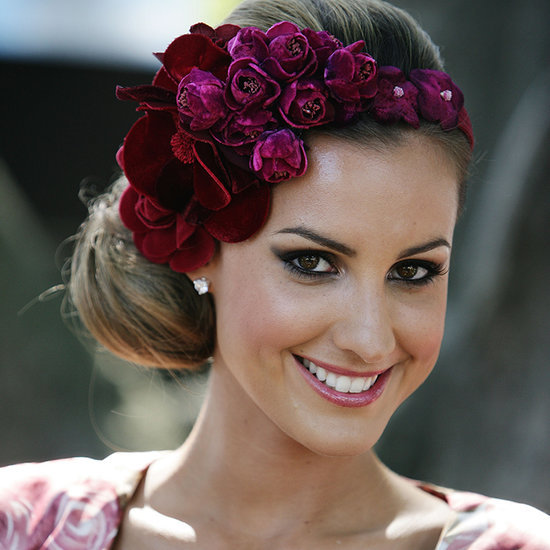 Autumn Racing Celebrity Hair and Makeup Looks