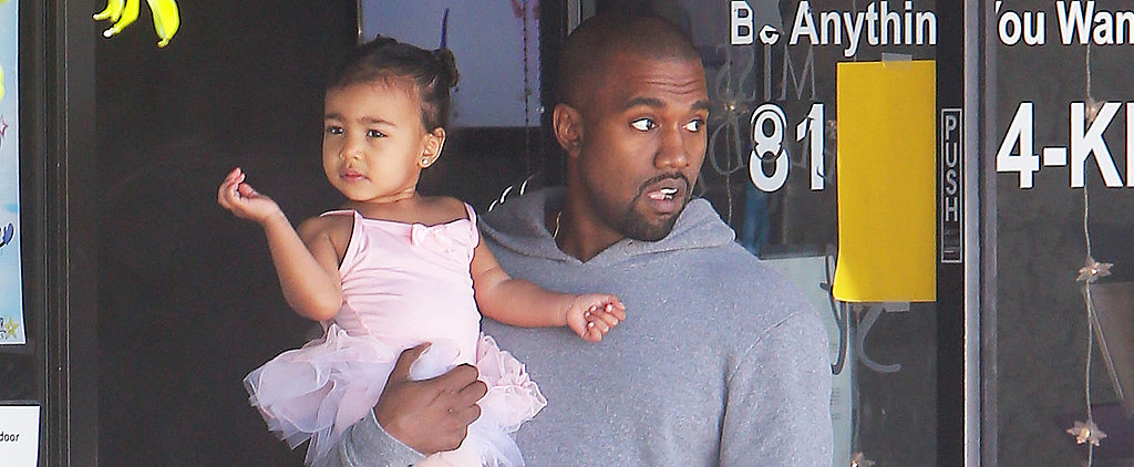 Kim and Kanye Take Their Tiny Dancer North to Tap Class!