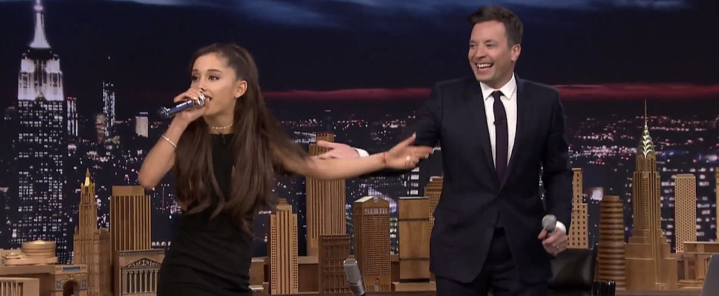 Ariana Grande's Celine Dion Impression Is Hilariously Pitch-Perfect