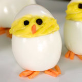 Hatch These Deviled Egg Chicks For Easter!
