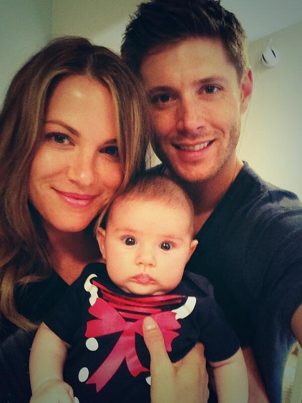 Jensen Ackles's Family Photos on Instagram and Facebook ...