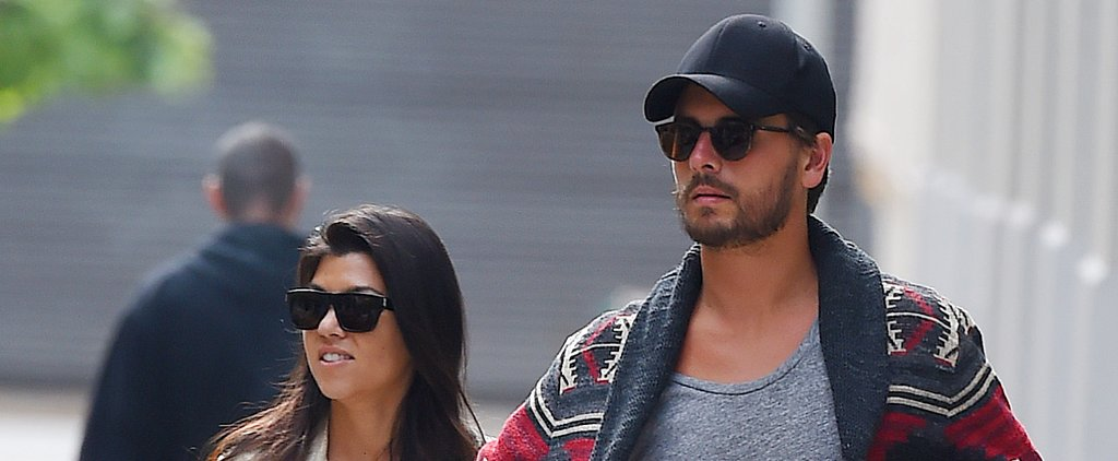 Kourtney Kardashian Gets Candid About Scott Disick's Rehab Stay