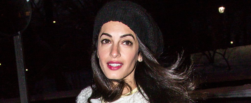 You'll Never Guess Which Famous Supermodel Amal Clooney Hangs With