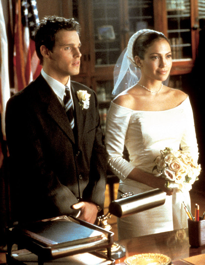 the wedding planner the 30 most iconic movie wedding dresses of all time popsugar fashion. Black Bedroom Furniture Sets. Home Design Ideas