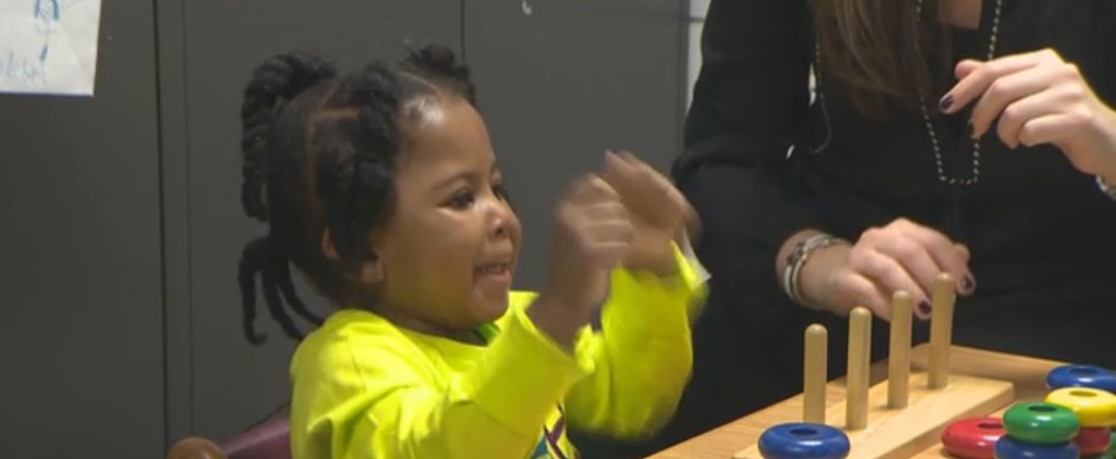 See How This Deaf 3-Year-Old Reacts to Hearing For the First Time