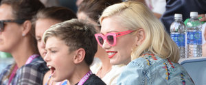 Glamorous Gwen Stefani Treats Her Boys to Tennis