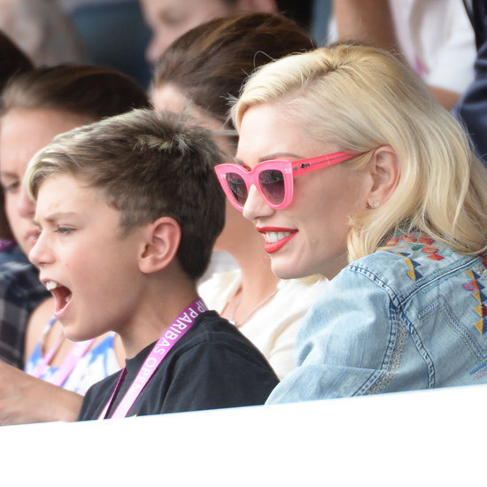 Gwen Stefani and Sons at 2015 BNP Paribas Open | Photos