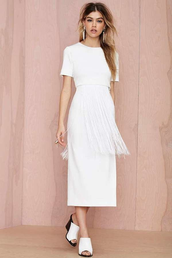 Maurie & Eve Fringe Dress
