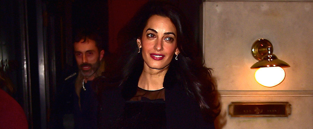 Amal Clooney Shows Her Stomach During an Eye-Catching NYC Outing