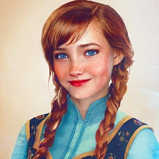 Real-Life Disney Princess Art