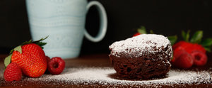 Microwave Flourless Chocolate Mug Cakes For Passover