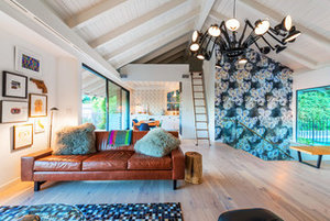 Room of the Day: More Fun for a Los Angeles Living Room (8 photos)