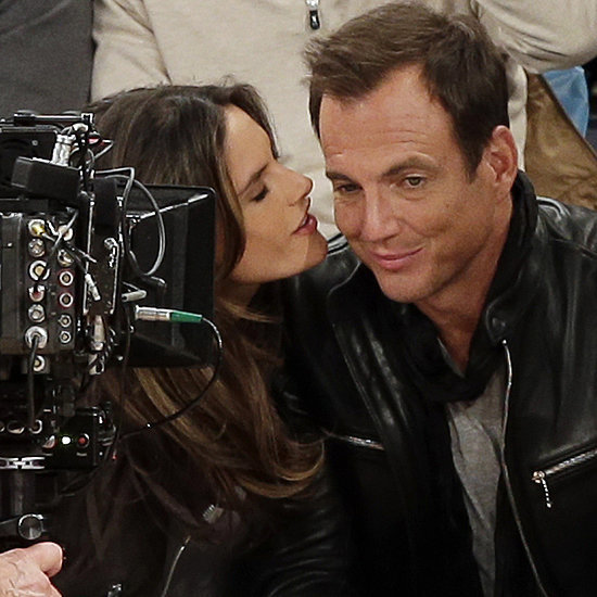 Alessandra Ambrosio and Will Arnett at Knicks Game | Photos