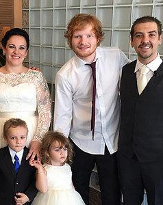 Ed Sheeran Crashes Wedding: Watch His Surprise Performance!
