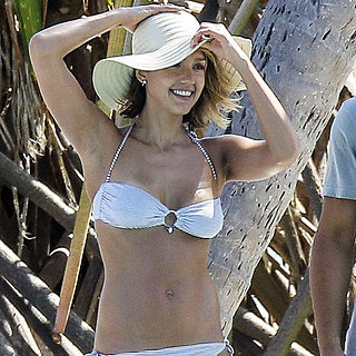 Jessica Alba Bikini Pictures on Spring Break