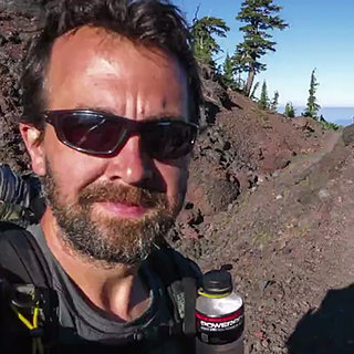 Man Takes Selfie During 2,660-Mile Hike