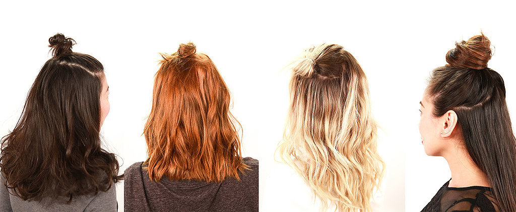 Master The Half Bun (For Every Hair Length!)