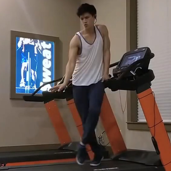 Glee's Harry Shum Jr. Just Blew Every Other Treadmill Dance Out of the Water