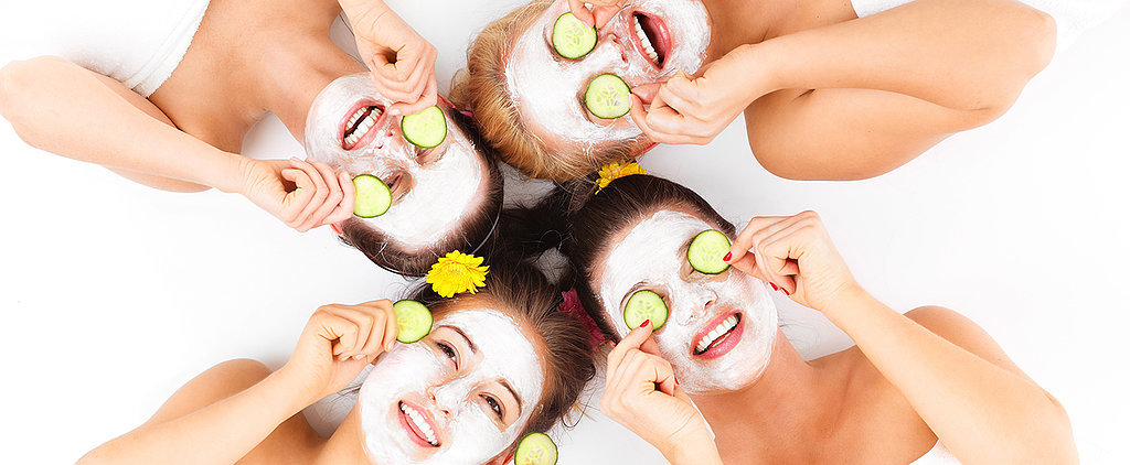 This Simple DIY Exfoliating Mask Is Perfect For Girls' Night In