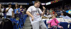 "This Boy's Halftime ""Happy"" Dance Is the Best Thing You'll See Today"