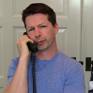 Sean Hayes Lip-Syncs to Trouble
