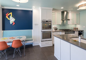 Kitchen of the Week: Fans of Traditional Style Go For a 'Mad Men' Look (10 photos)