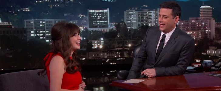 "Zooey Deschanel on Being Pregnant: ""I Can't Have Sushi or Good Cheese"""