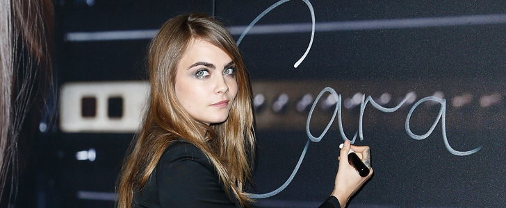 It's Impossible to Tell the Difference Between Cara Delevingne and Her Face Twin