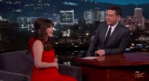 "Zooey Deschanel Says Pregnancy Diet Is ""A Total Joke"""