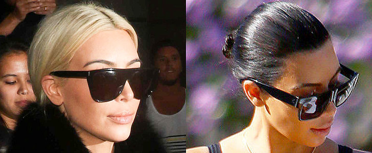 Well, That Was Fast! Kim Kardashian Is a Dark Brunette Again