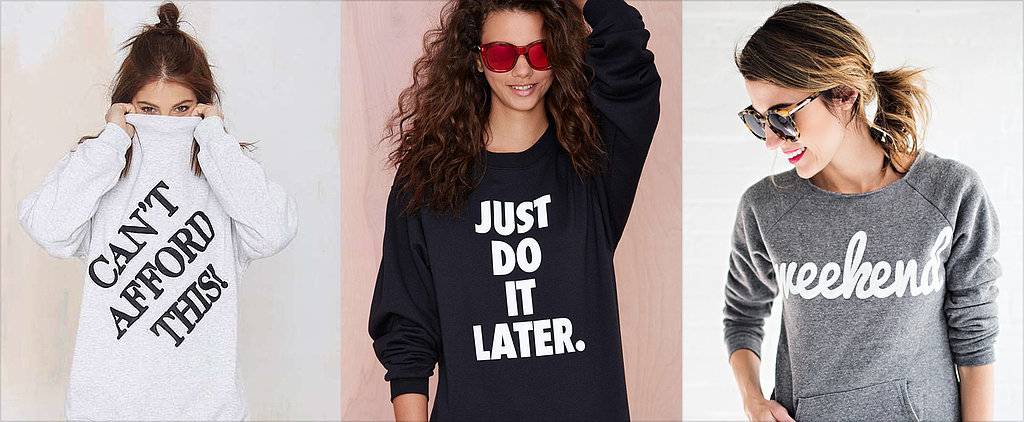 POPSUGAR Shout Out: 20 Statement Tops That Will Do the Talking For You
