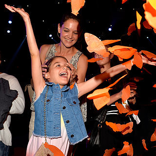 Katie Holmes and Suri Cruise at Kids' Choice A