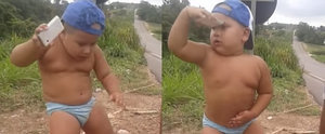 It'll Only Take Seconds For This Boy's Dancing to Make You Giggle