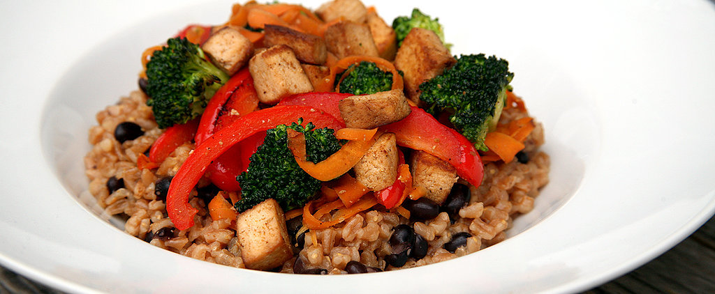 Maple-Cumin Tofu With Farro Is Packed With 18 Grams of Protein