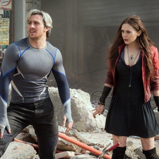 Elizabeth Olsen and Aaron Taylor-Johnson Avengers Interview