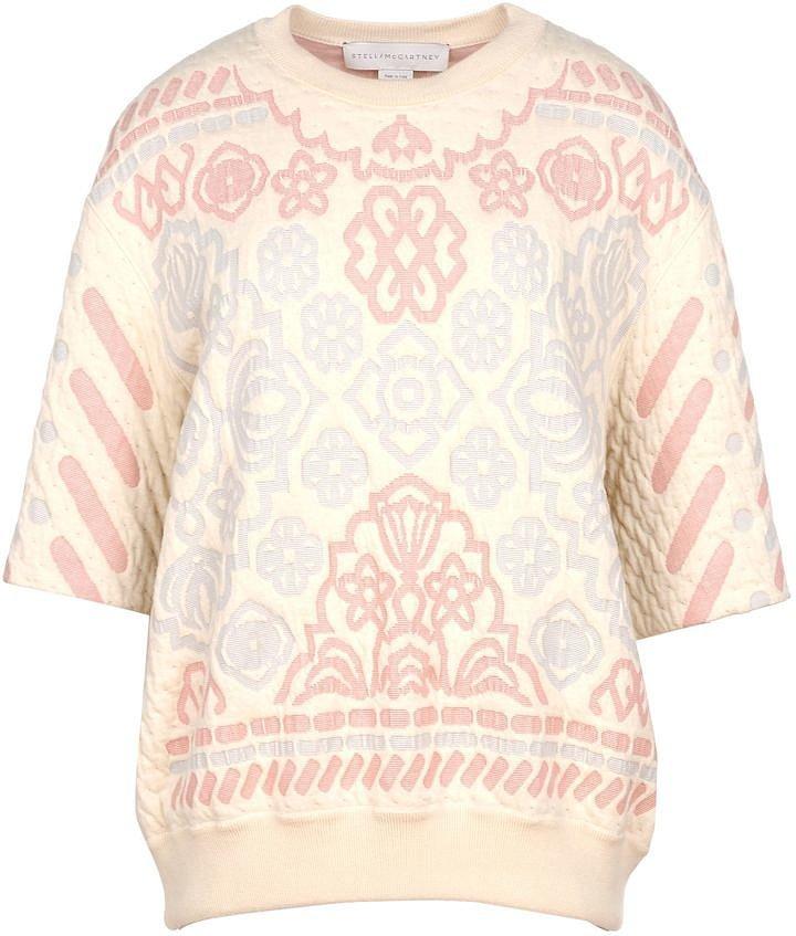 Stella McCartney Pastel Jacquard Sweatshirt