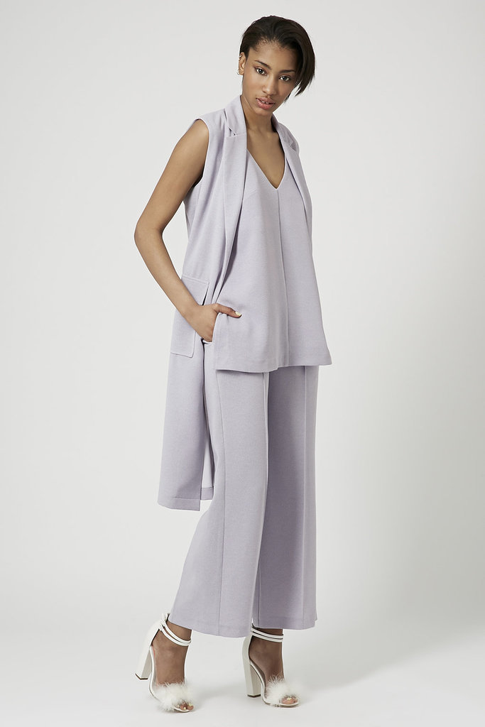 Topshop Utility Crepe Tunic, Duster, and Wide-Leg Trousers