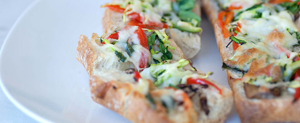 Spring Vegetables Elevate This Easy Garlic Bread
