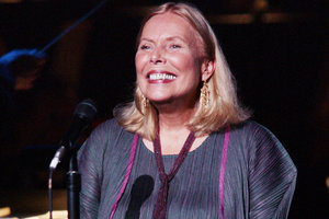 "Our Beloved Joni Mitchell Is ""Awake And In Good Spirits"" After Being Rushed To The Hospital Yesterday"