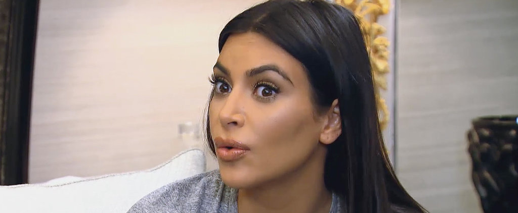 "Kim Kardashian Thinks Everyone Should Just ""Give It Up"" and Stop Catering to Rob"