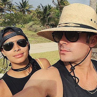 Zac Efron and His Girlfriend in Mexico