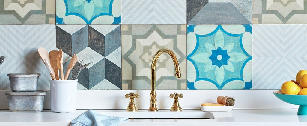 Installing This Cute and Colorful Backsplash Is Surprisingly Easy!
