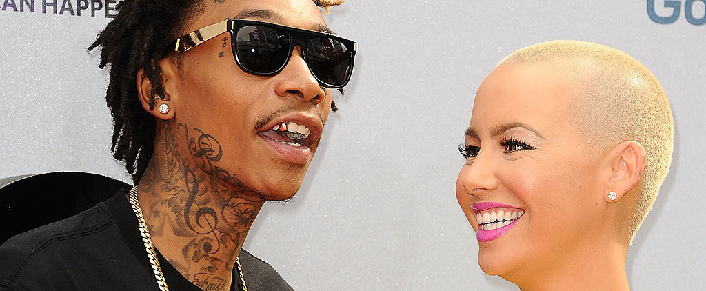 Amber Rose Declares Her Love For Wiz Khalifa on Instagram