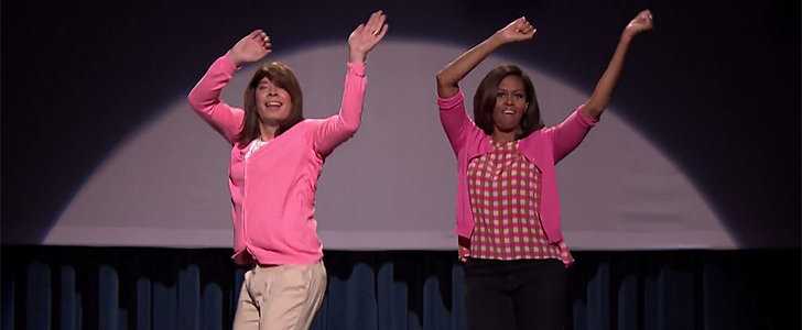 Jimmy Fallon and Michelle Obama Bring Back Mom Dancing With a Vengeance
